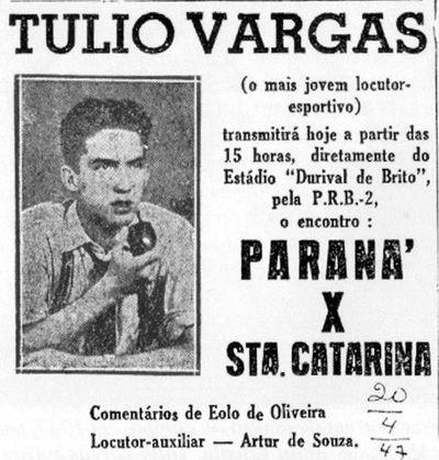 Pioneiro: Odilon Túlio Vargas