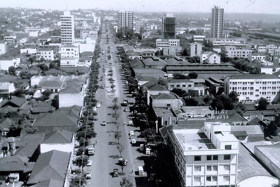 Avenida Brasil - Final dos anos 1960