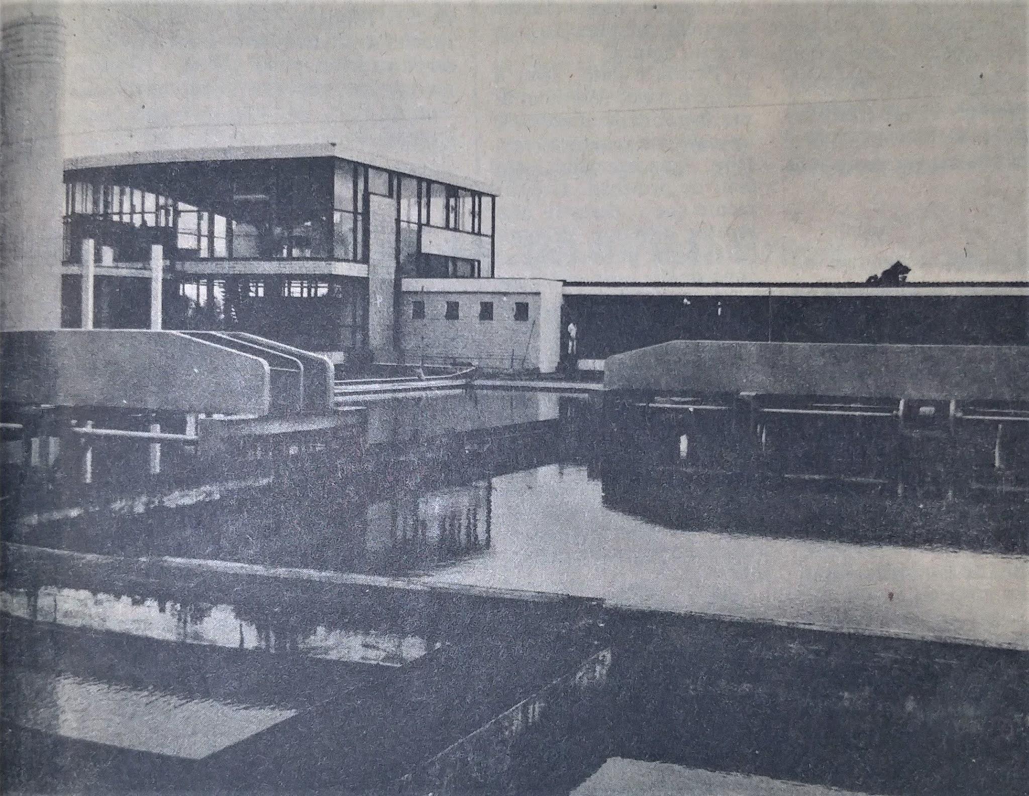 Estação de Abastecimento da CODEMAR - 1978
