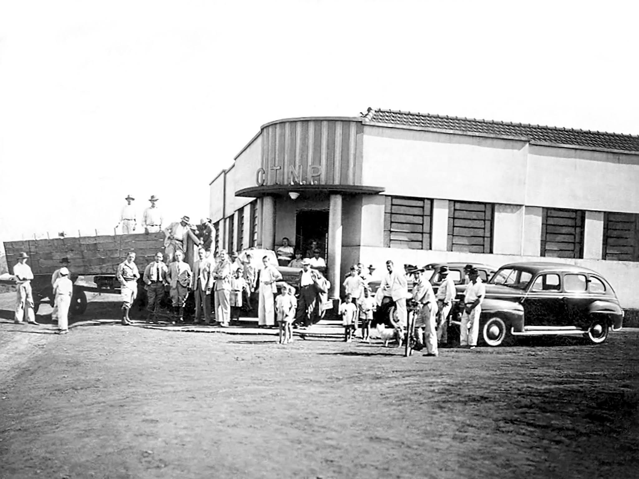 Sede da CTNP - 1948