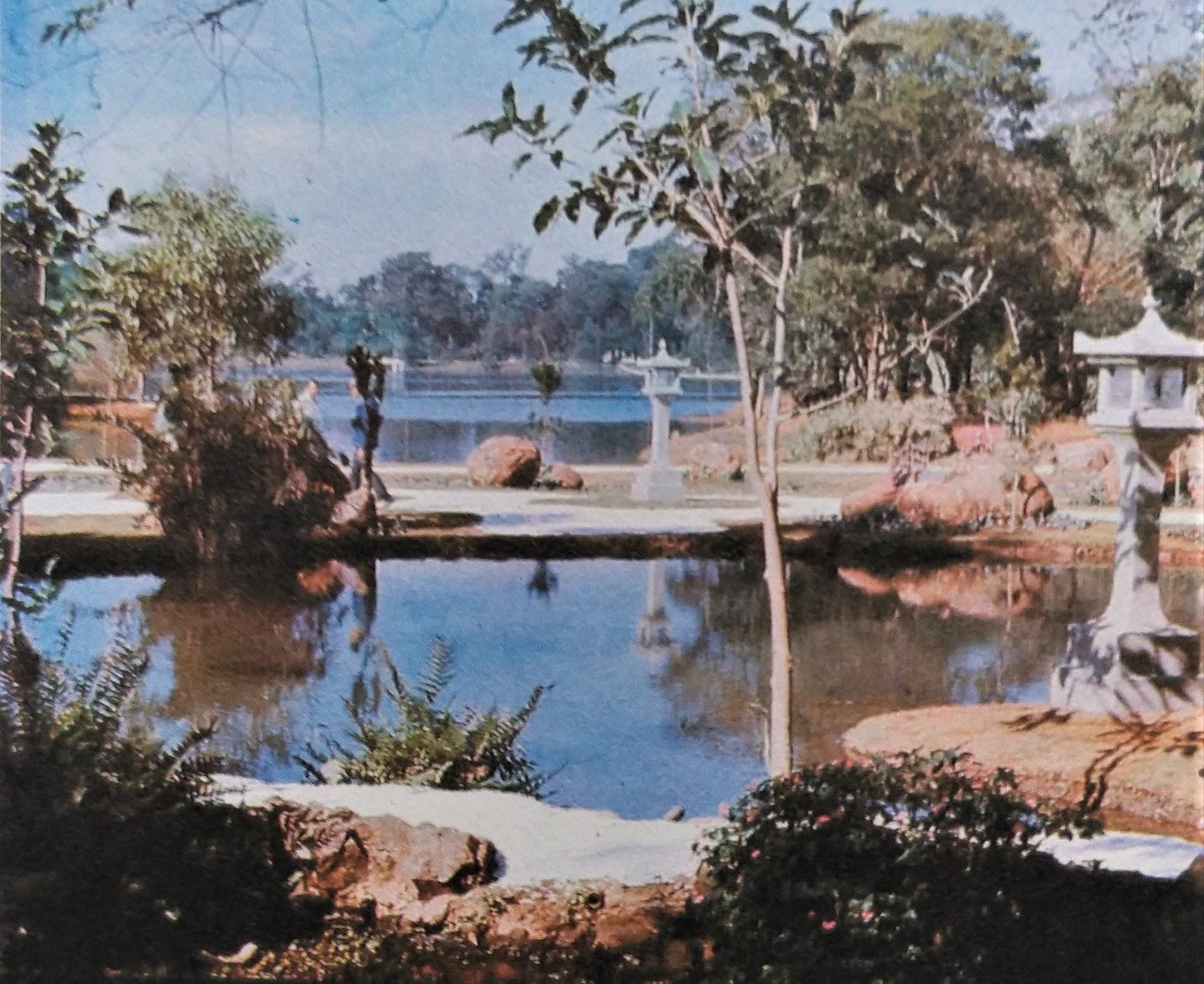 Jardim Japonês - Década de 1980