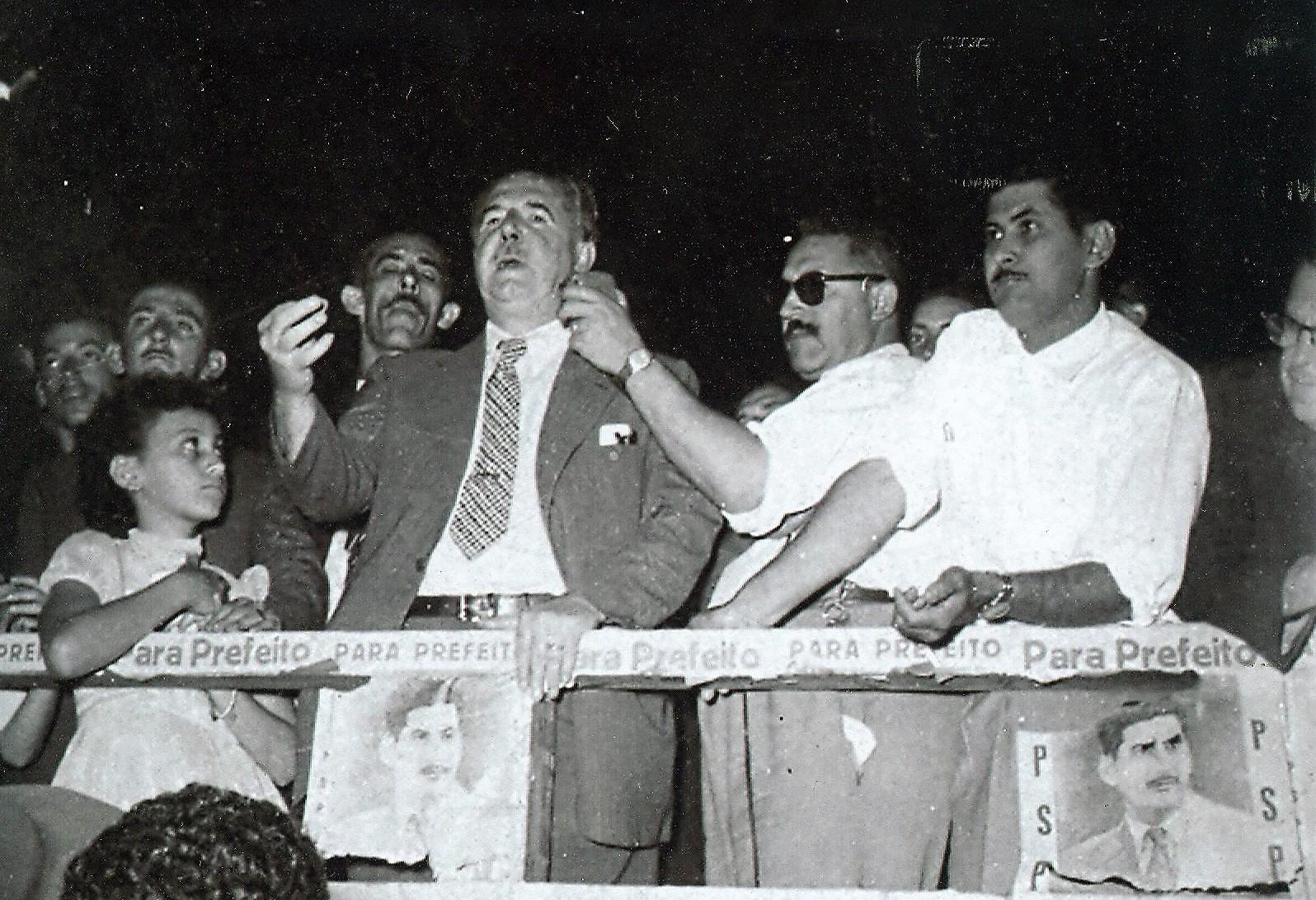 Adhemar Pereira de Barros em Maringá - 1956