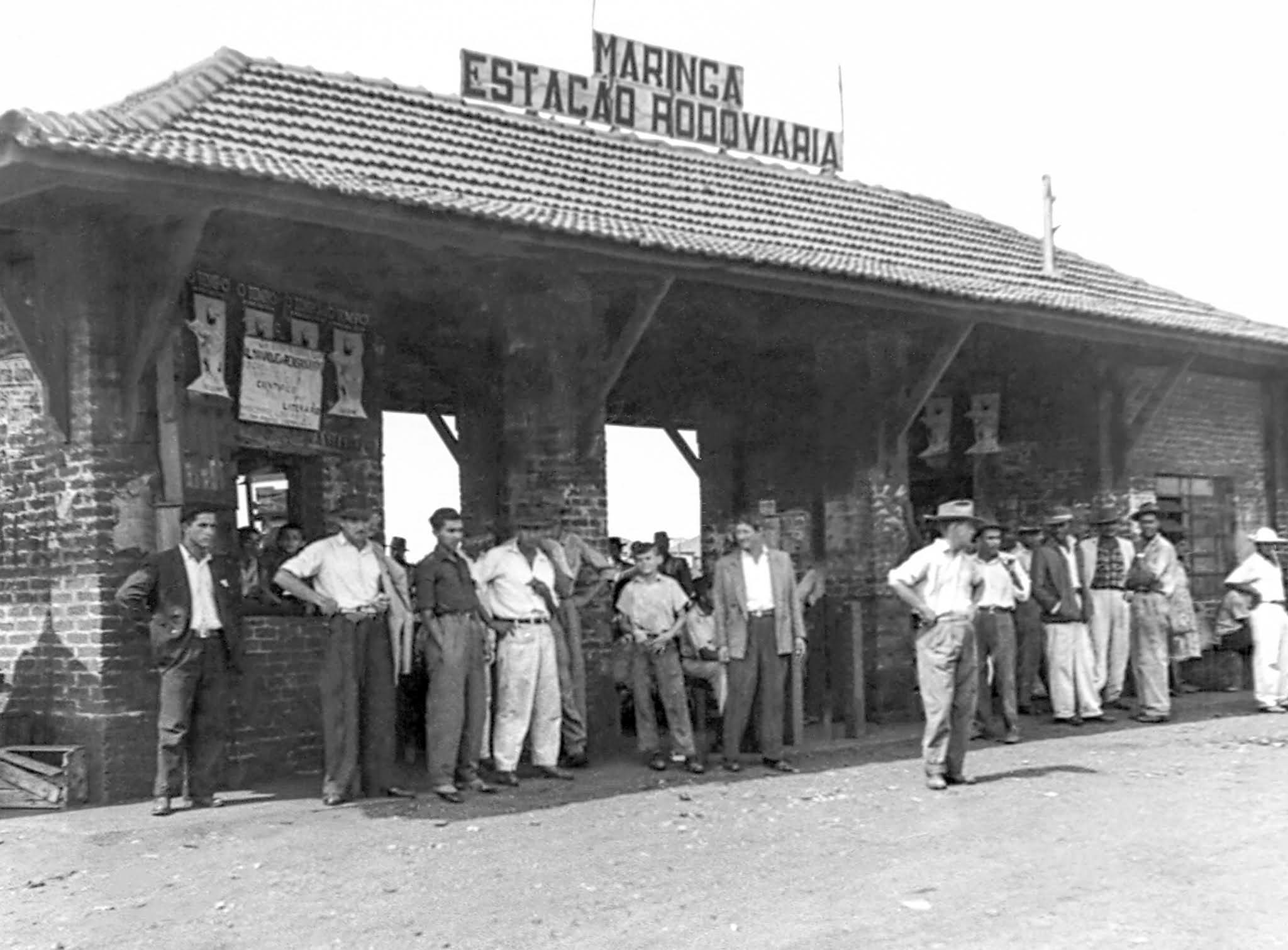 Estação Rodoviária - Década de 1950