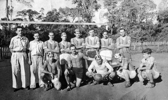 Time de Futebol do Aeroporto de Maringá ou SERM? - Década de 1950
