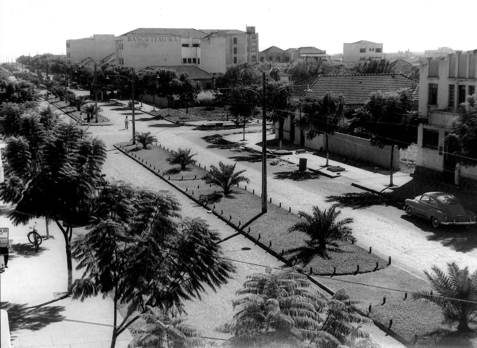 Avenida Duque de Caxias - Década de 1960