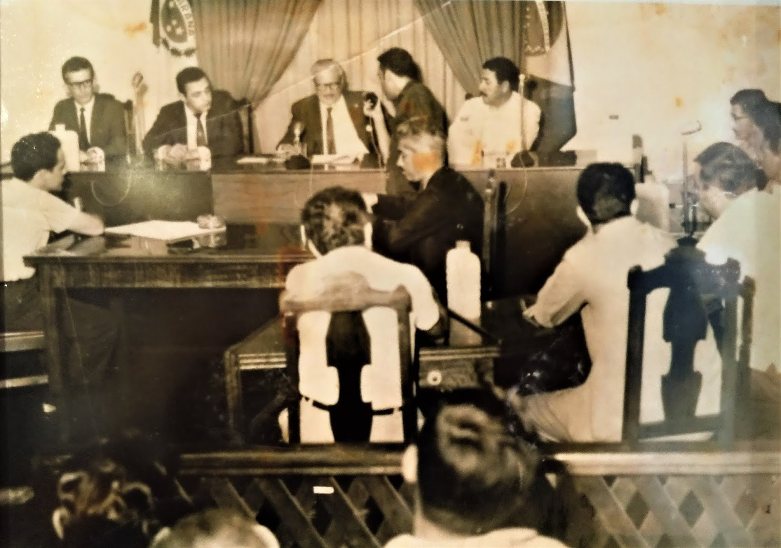 Plenário da Câmara de Vereadores - 1969 (outro ângulo)