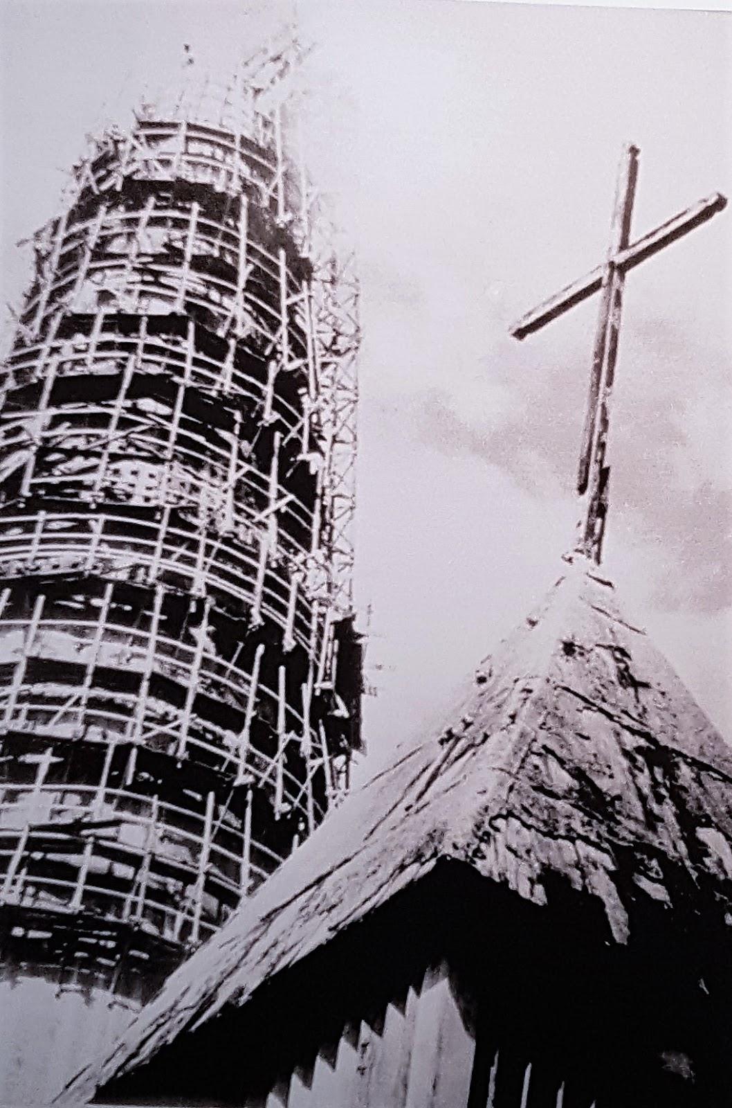 O tempo e o templo - Década de 1970