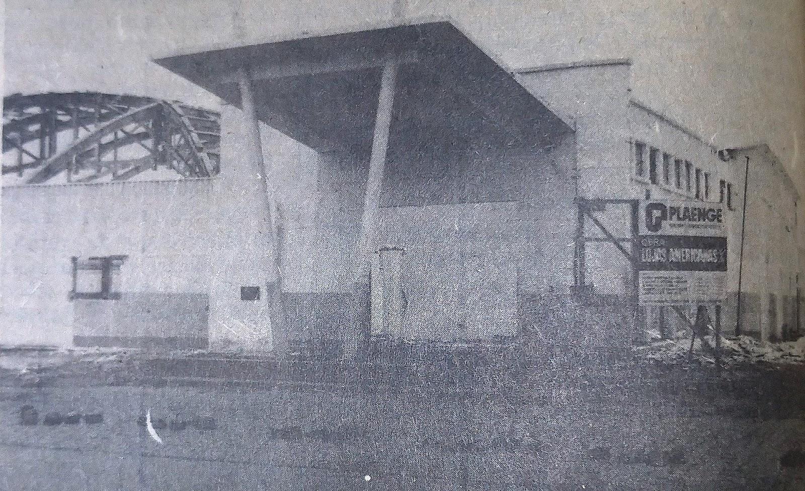 Futuras instalações das Lojas Americanas - Janeiro de 1979