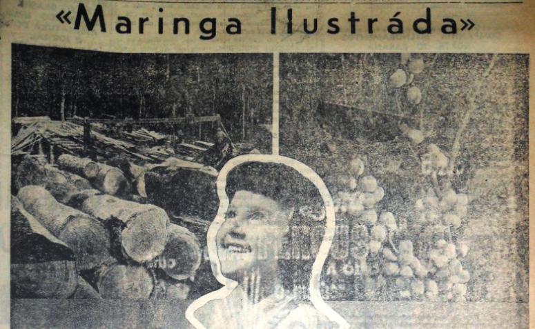 Lançamento da Maringá Ilustrada - 1957