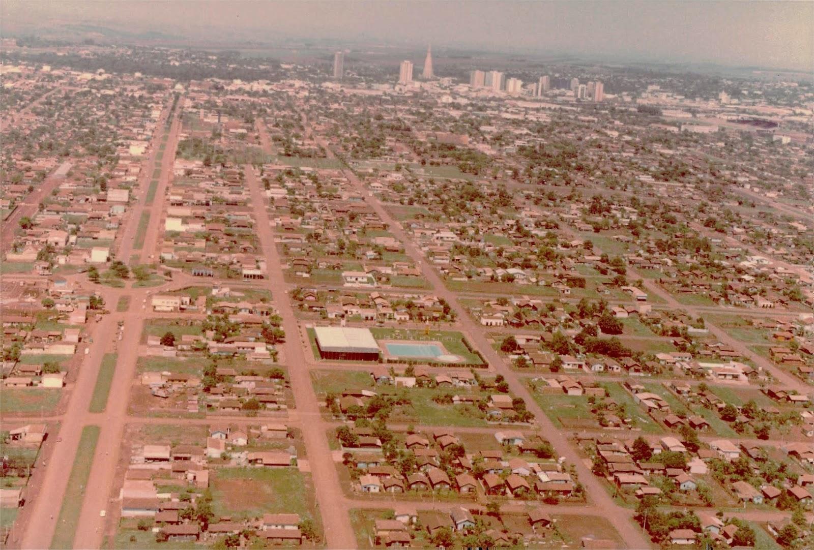 Vista aérea do Jardim Alvorada - 1979