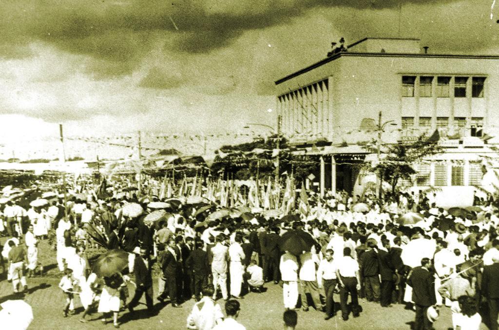 Desfile Cívico - Década de 1950