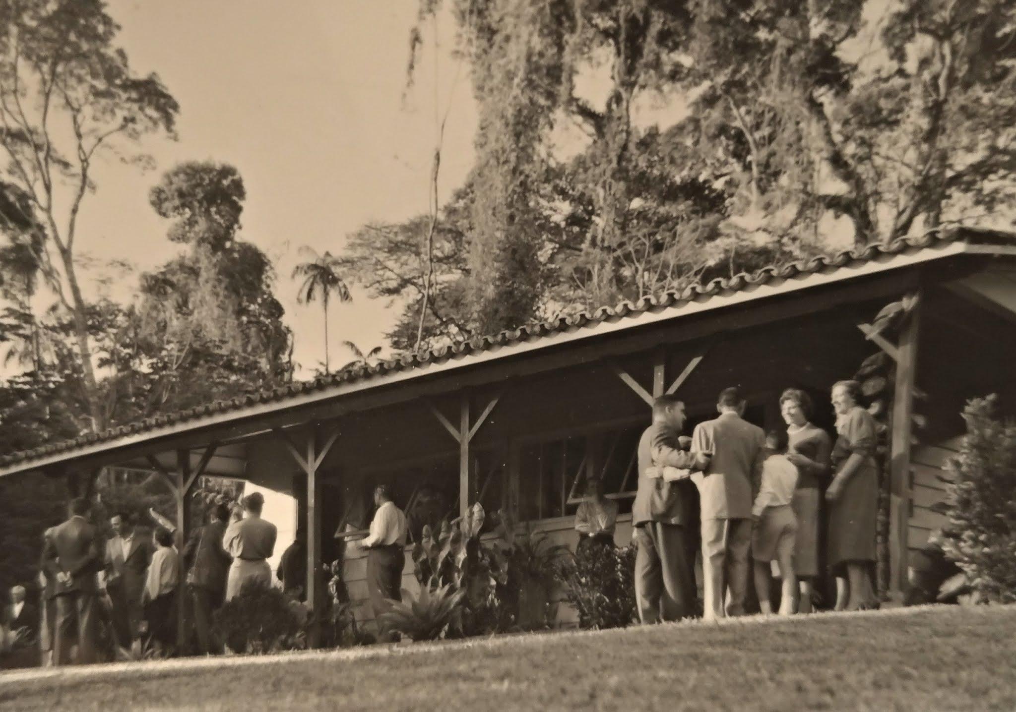 Administração do Horto Florestal - Anos 1950