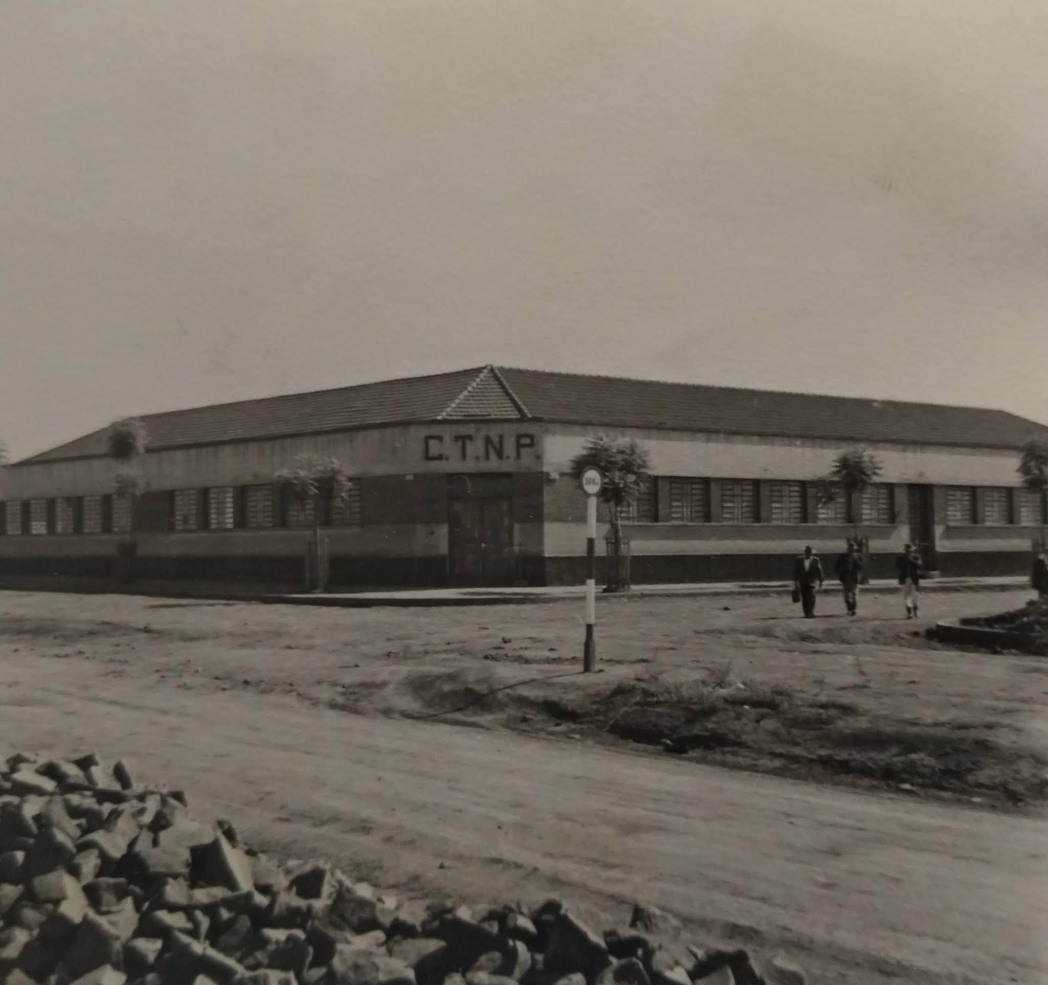 Sede da CTNP - Inicio de 1950