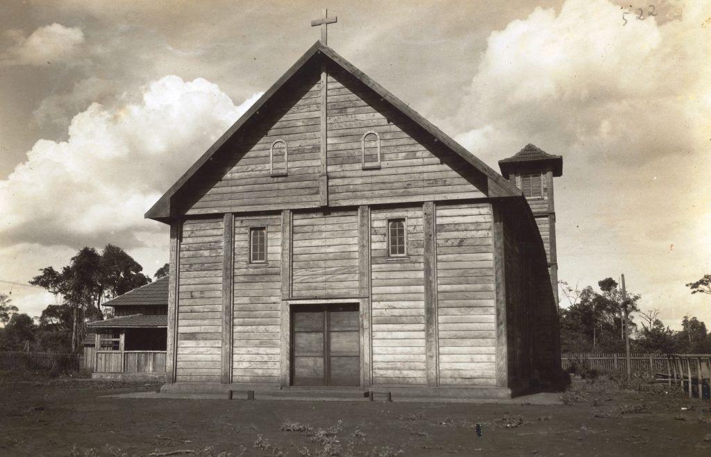 Capela Santa Cruz - Década de 1950