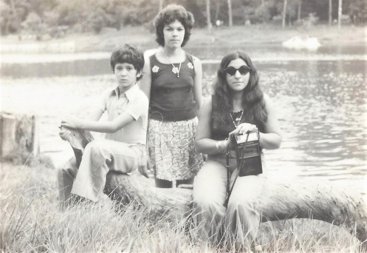 Família Arjona no Parque do Ingá - 1975