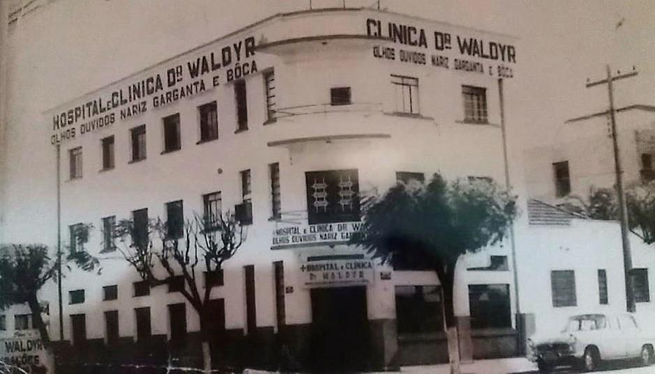 Clínica do Dr. Waldyr Coutinho - Década de 1970