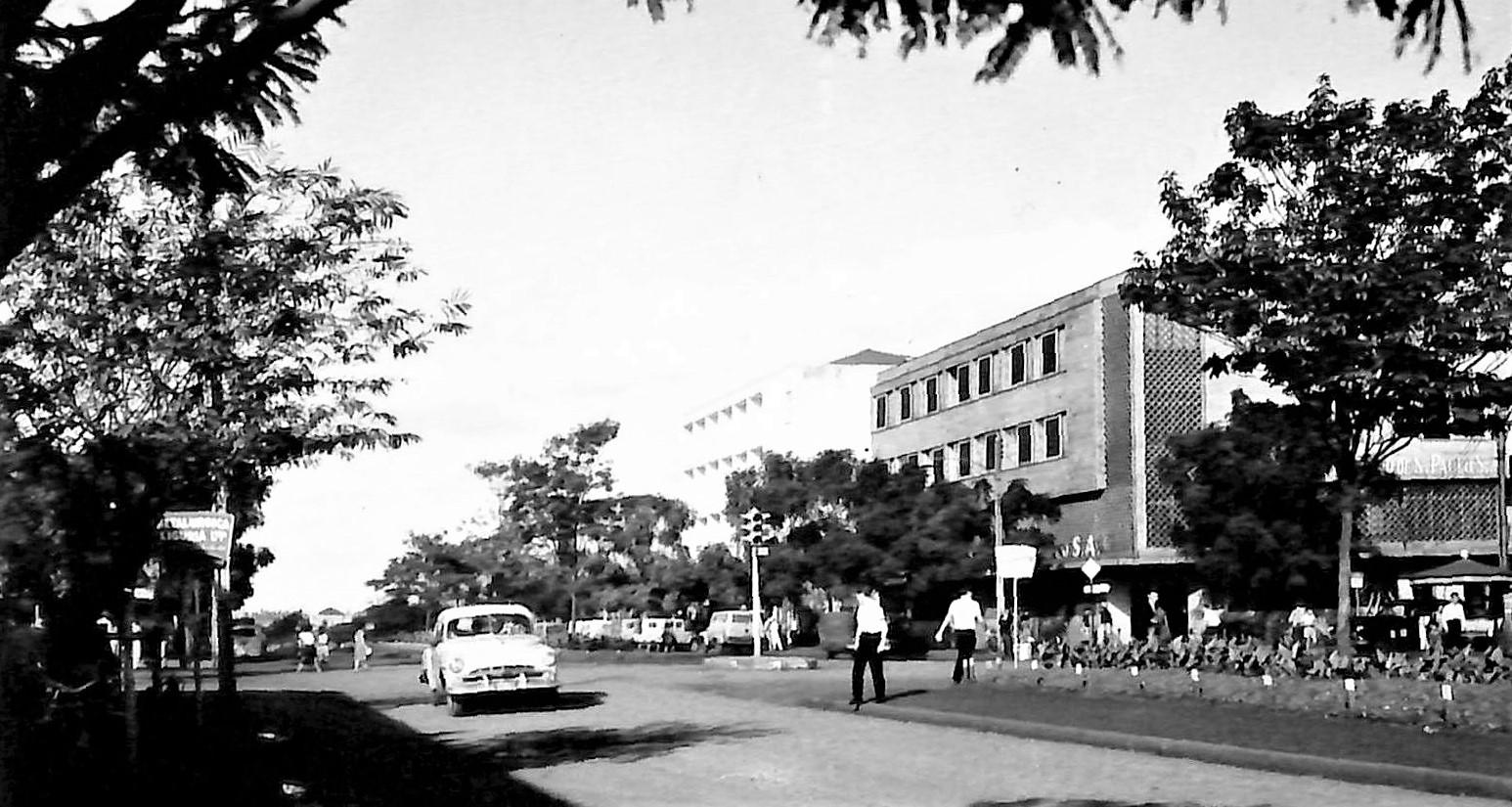 Avenida Brasil - Início dos anos 1960