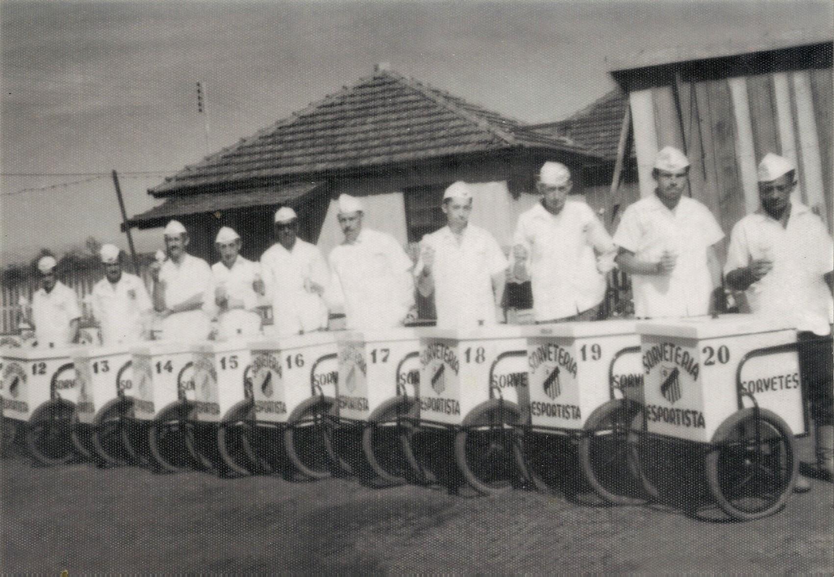 Sorveteria Esportista - Anos 1950