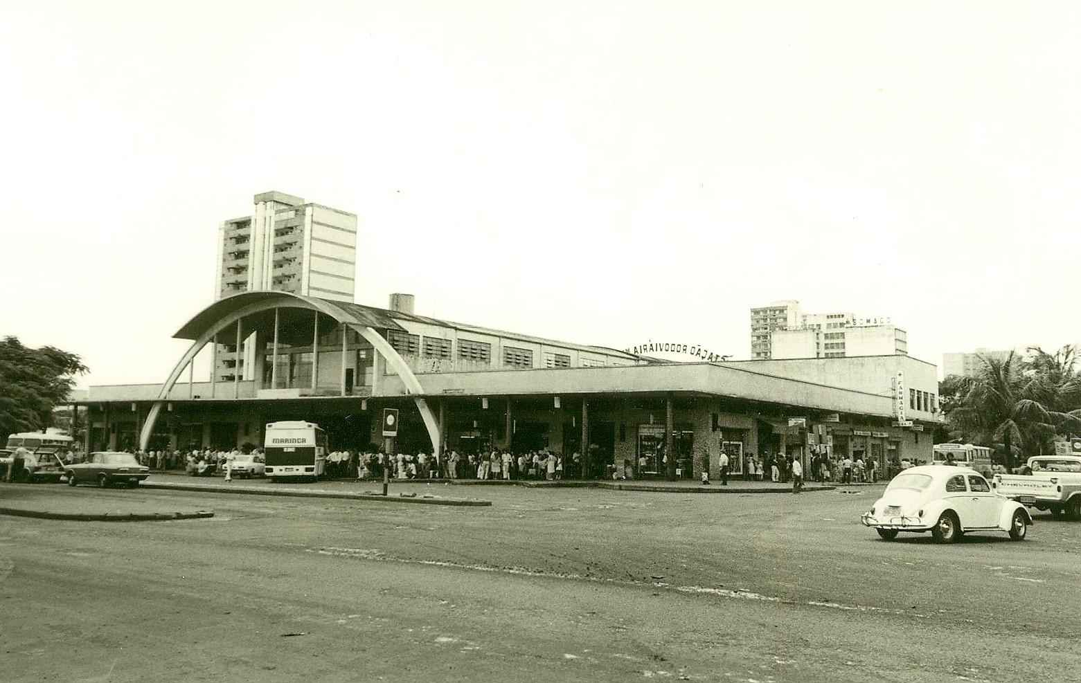 Estação Rodoviária Municipal - Década de 1980
