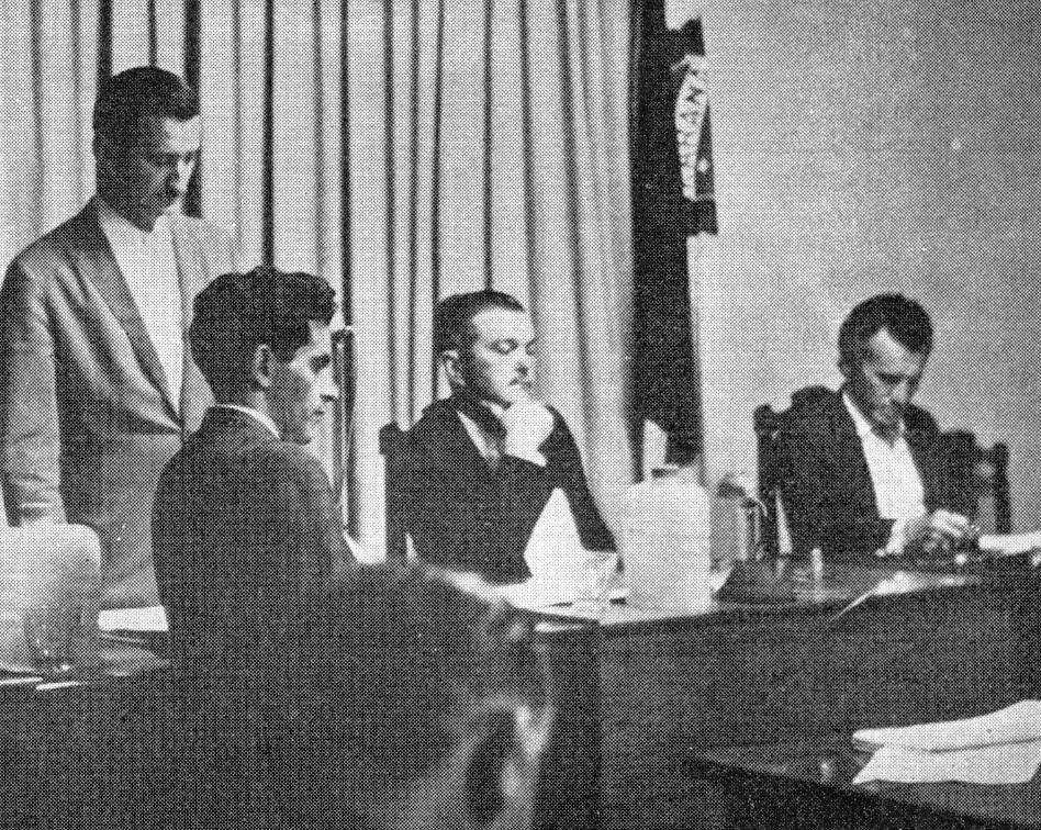 Interior da Câmara de Vereadores - Década de 1960