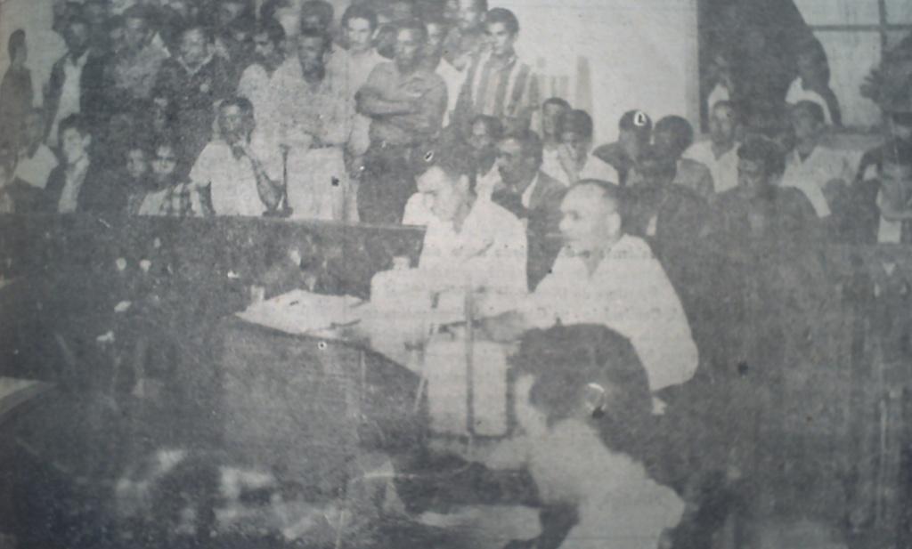 Interior da Câmara de Vereadores - 1967