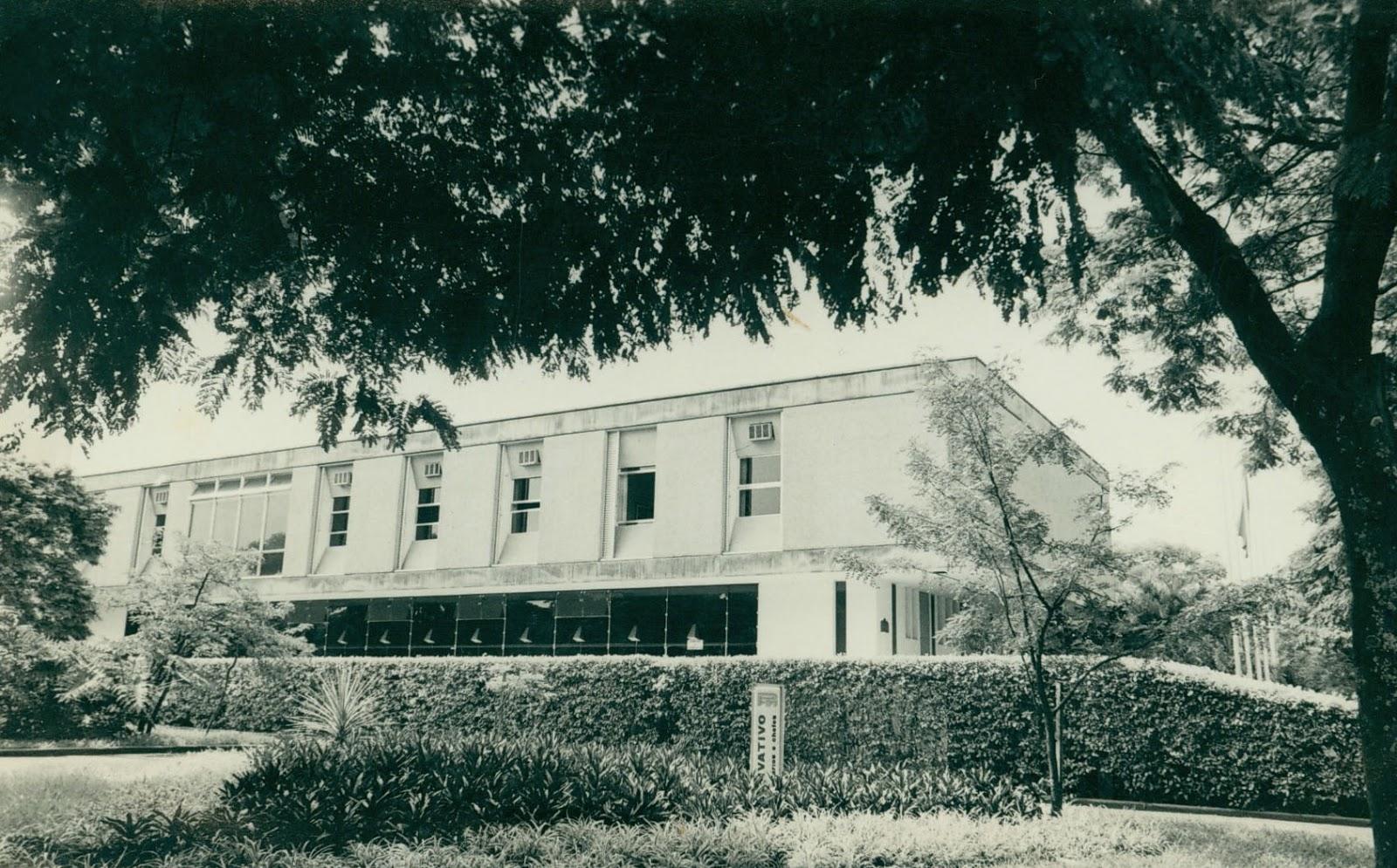Paço Municipal e Gabinete do Prefeito - Década de 1970