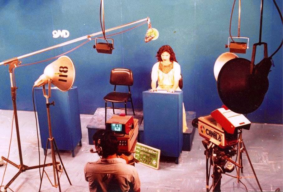 Estúdio da TV Cultura - 1978