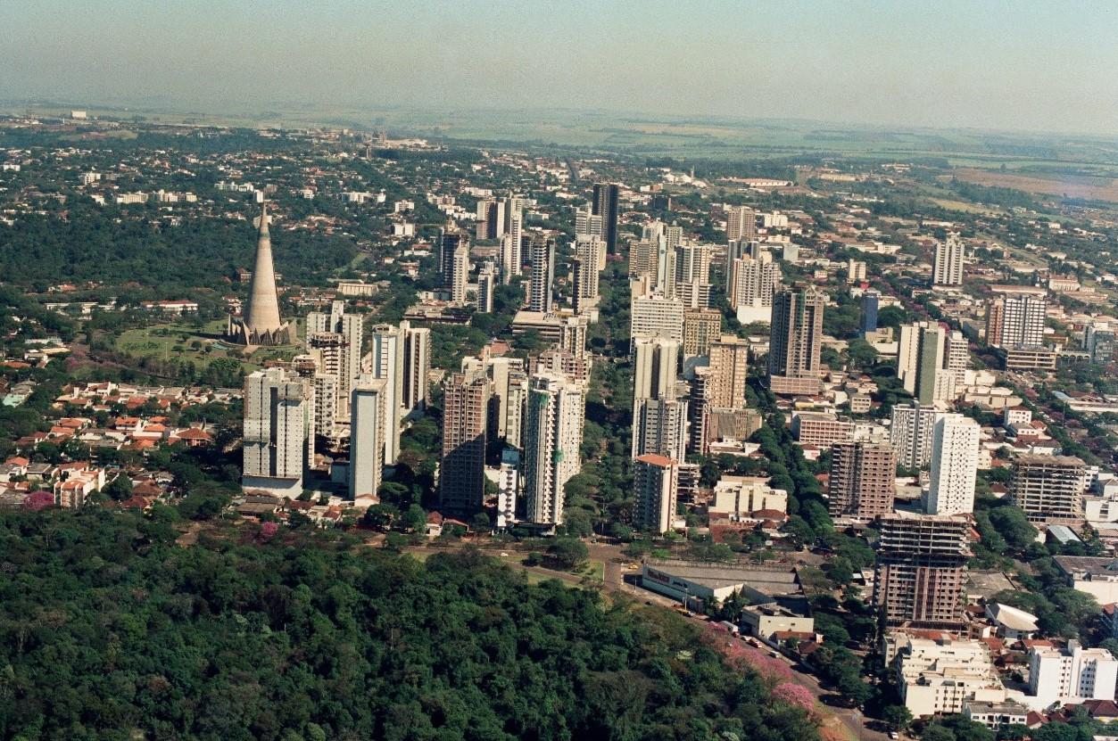 Verticalização de Maringá - 1985