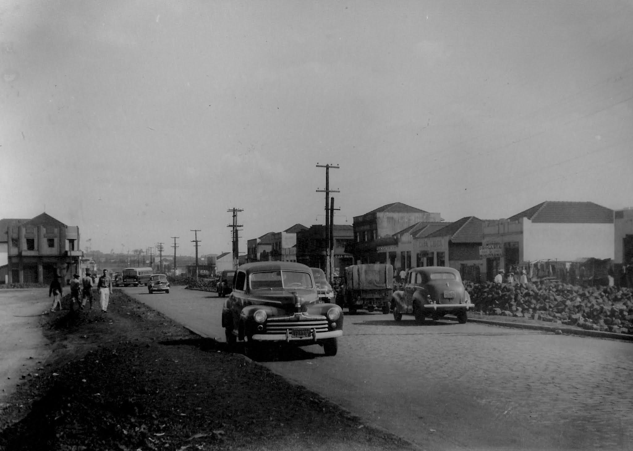 Avenida Brasil - Início dos anos 1950