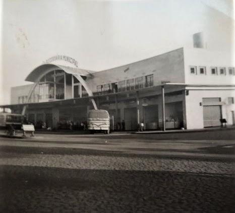 Estação Rodoviária Municipal - Anos 1960