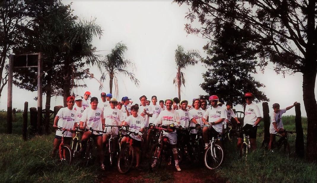 1ª Competição de Mountain Bike de Maringá - 1989