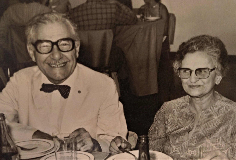 Casal Winifred e Odwaldo Bueno Netto - Década de 1970