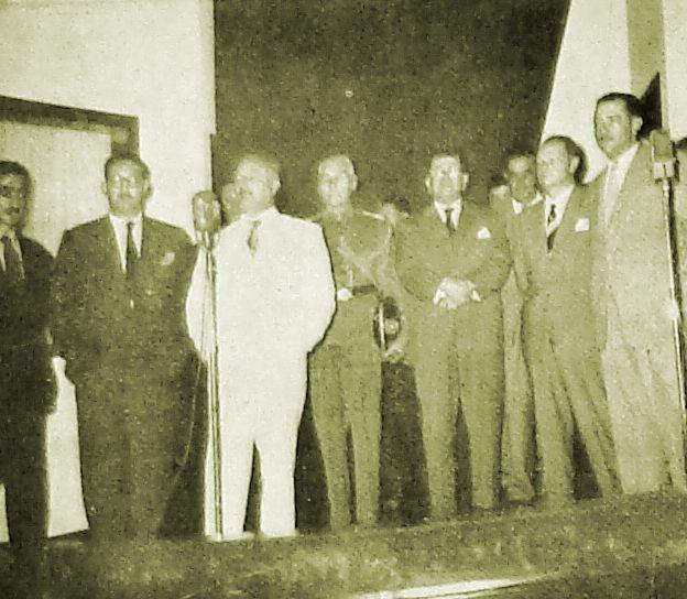 Inauguração da Rádio Cultura - 1953