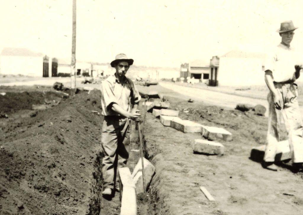 Trabalhadores - Década de 1940