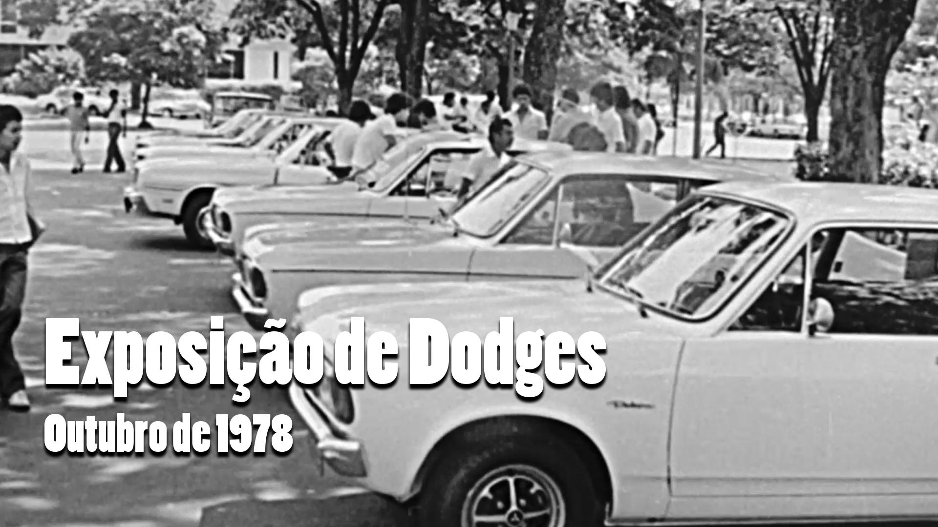 RARIDADE - Exposição de Dodges em 1978