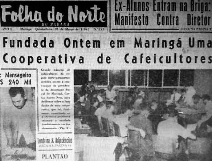 Fundada a COCAMAR - 1963