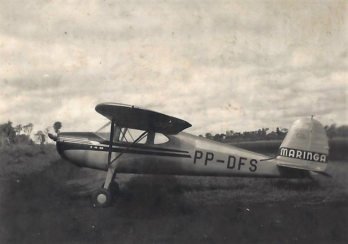 Avião Cessna - Final da década de 1940