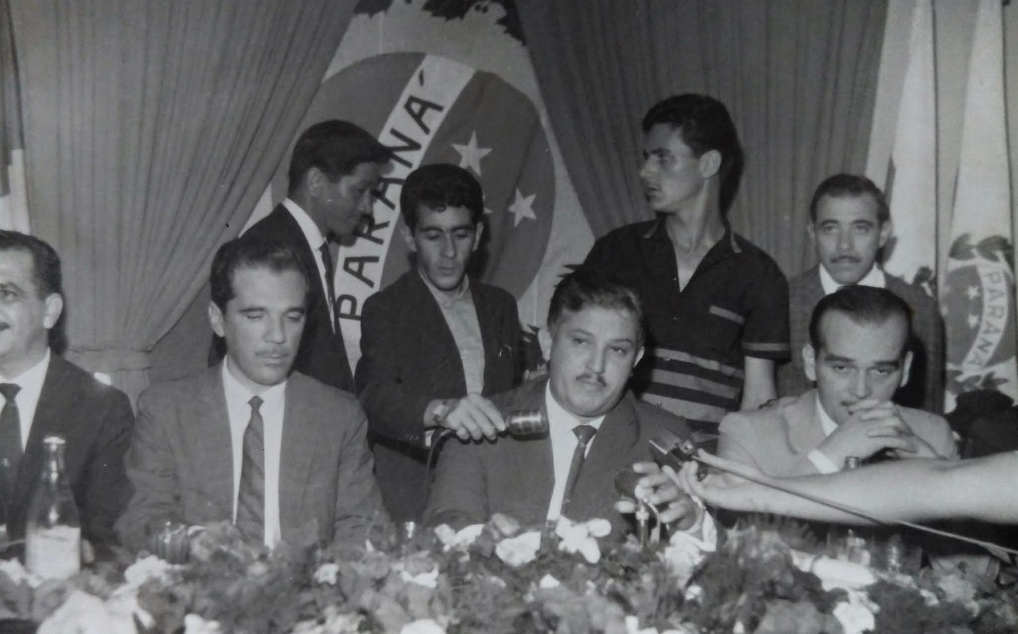 Ney Braga em Maringá - 1965