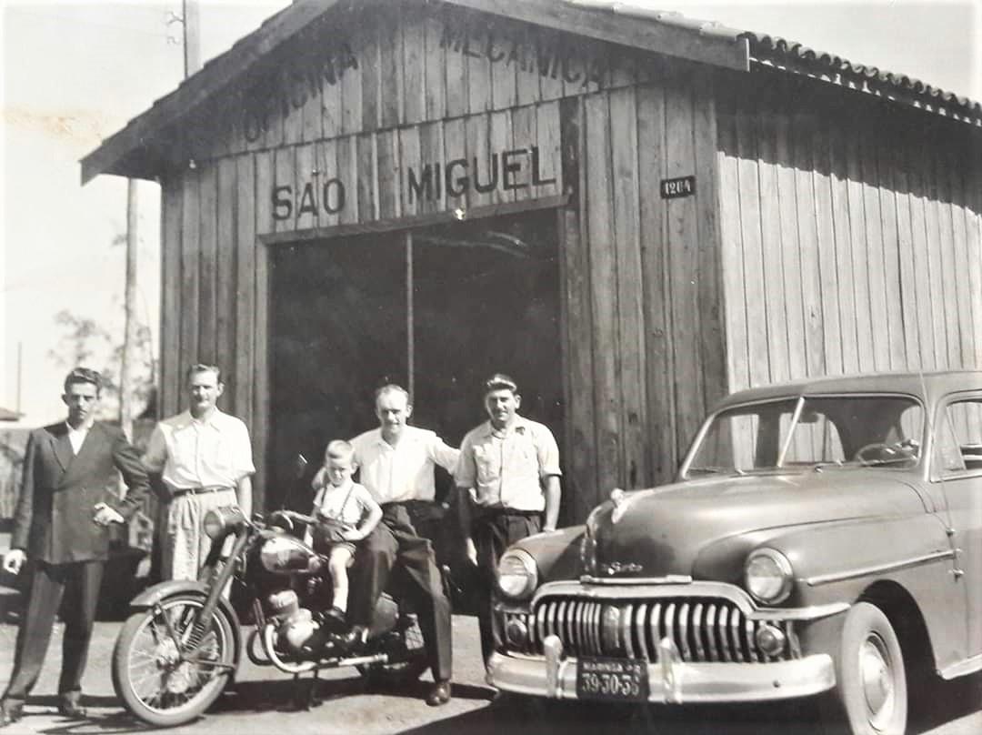Oficina Mecânica São Miguel - Década de 1950