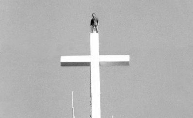 A cruz da Catedral
