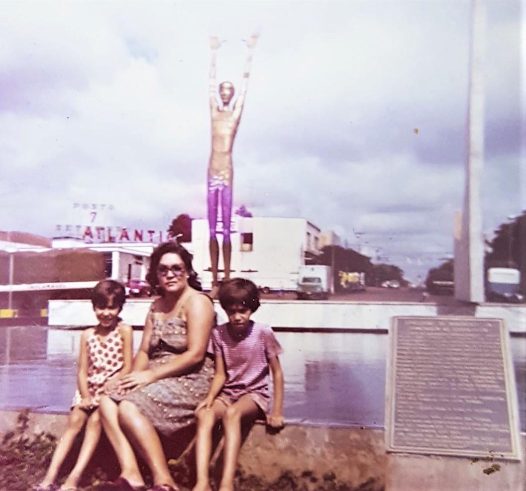 Praça 7 de Setembro - Década de 1970