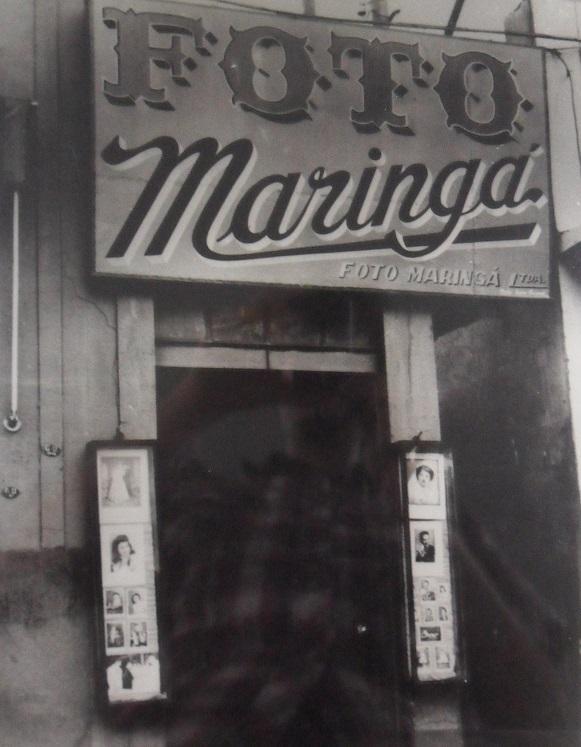 Fachada do Foto Maringá - Década de 1950