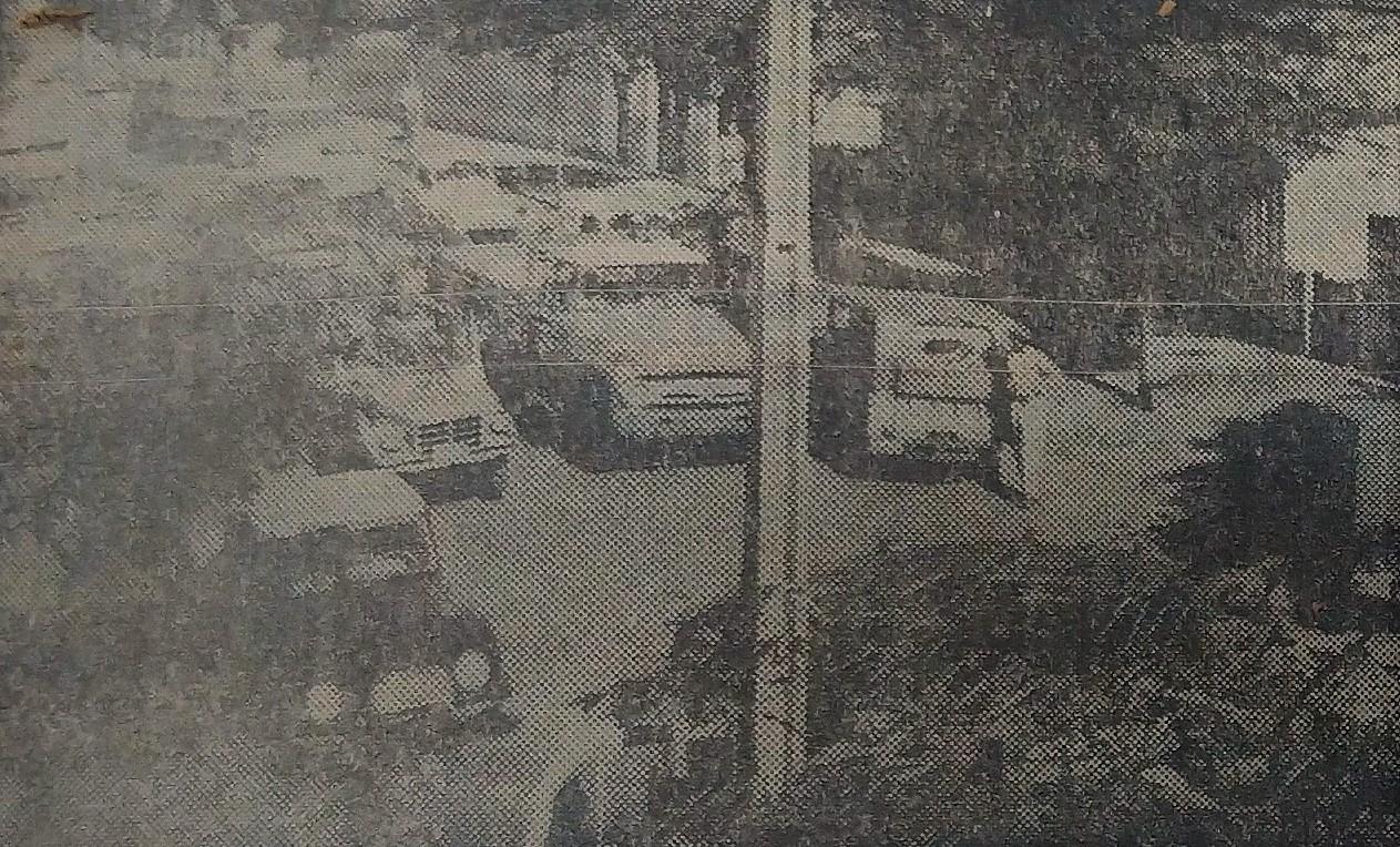 Trânsito desorganizado - 1962