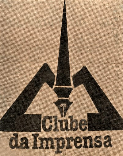 Logotipo do Clube da Imprensa - 1987