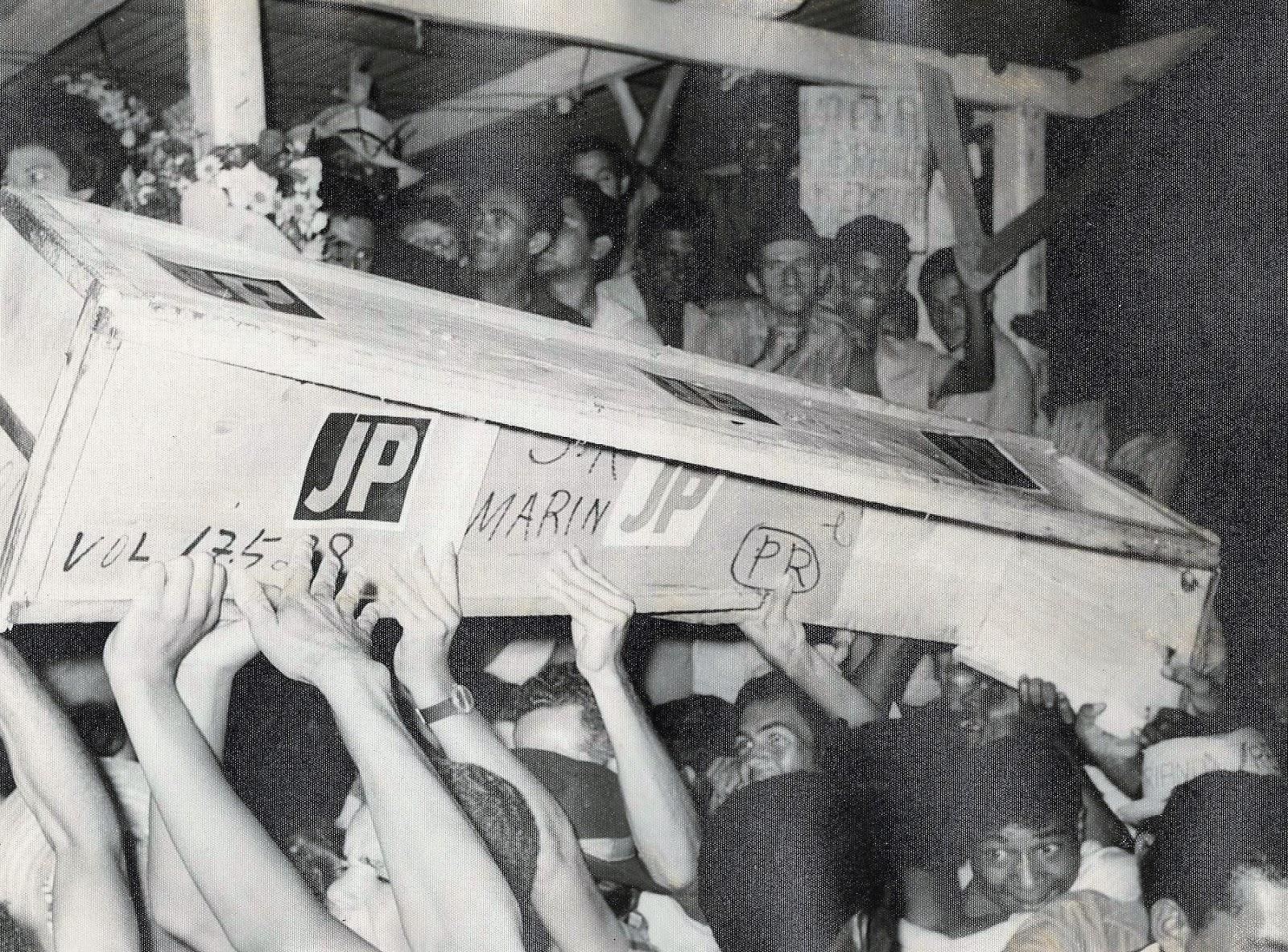 Caixão de JP - 1968