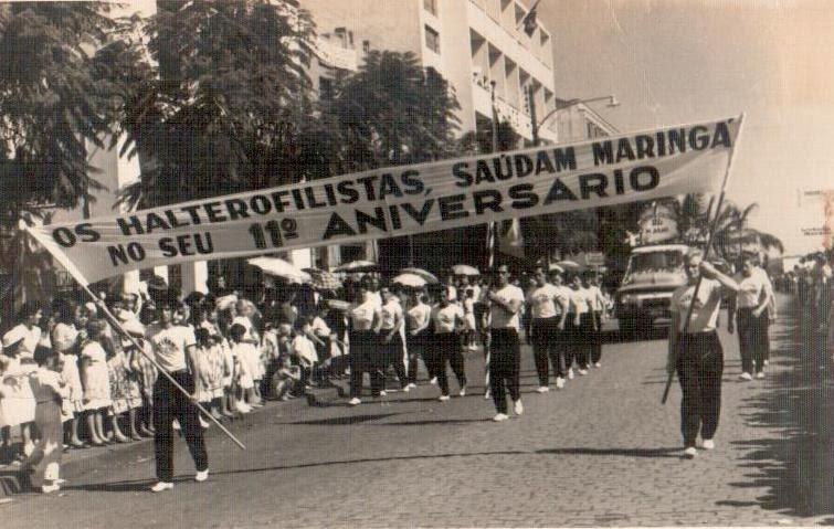 Atletas da Academia de Halterofilismo - 1958