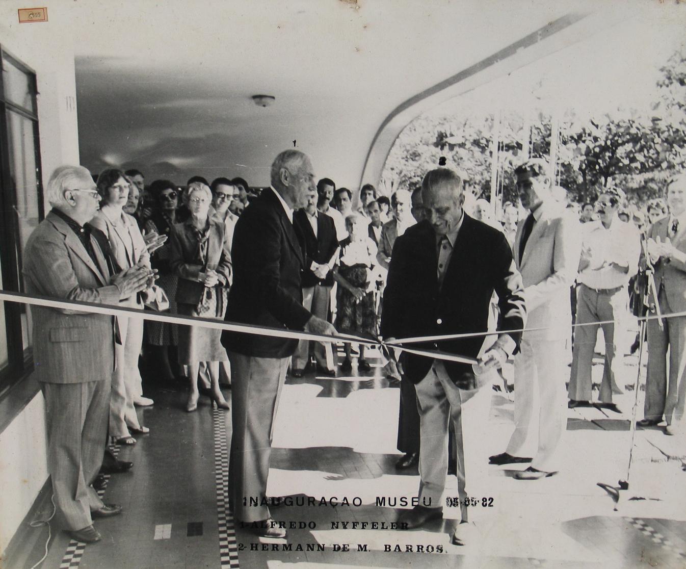 Inauguração do Museu Bacia do Paraná