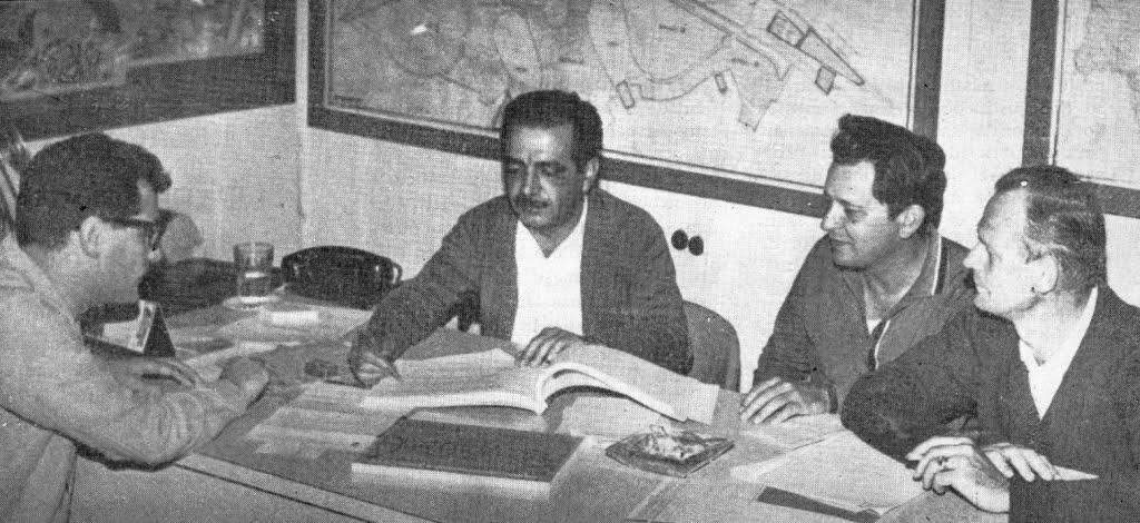 Diretoria da CODEMAR - Década de 1960