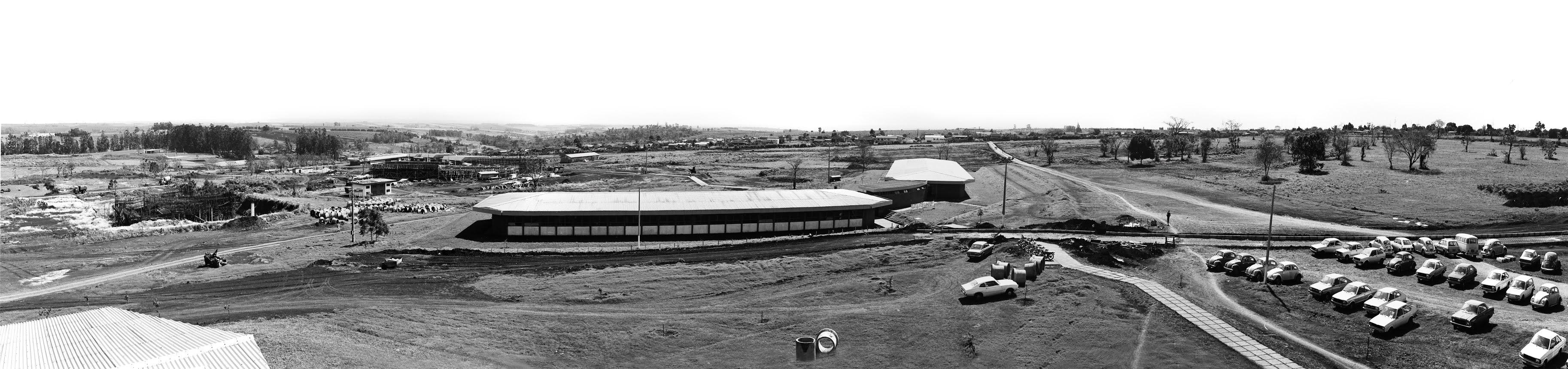 Interior da UEM - Década de 1980