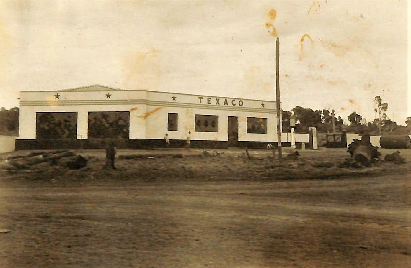 Posto Texaco - Final dos anos 1940